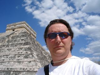 David at Chichen Itza