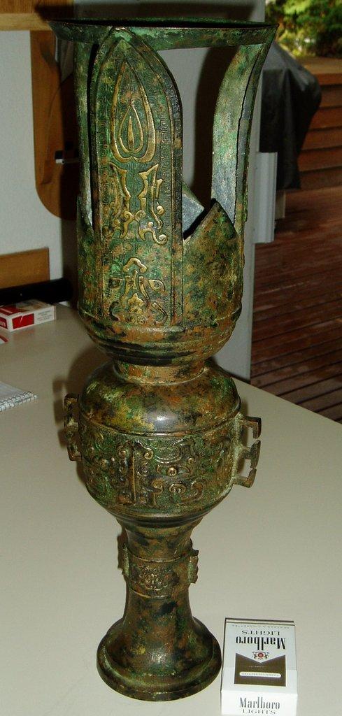 Il mistero del vaso di una civiltà sconosciuta. Forse Atlantide?